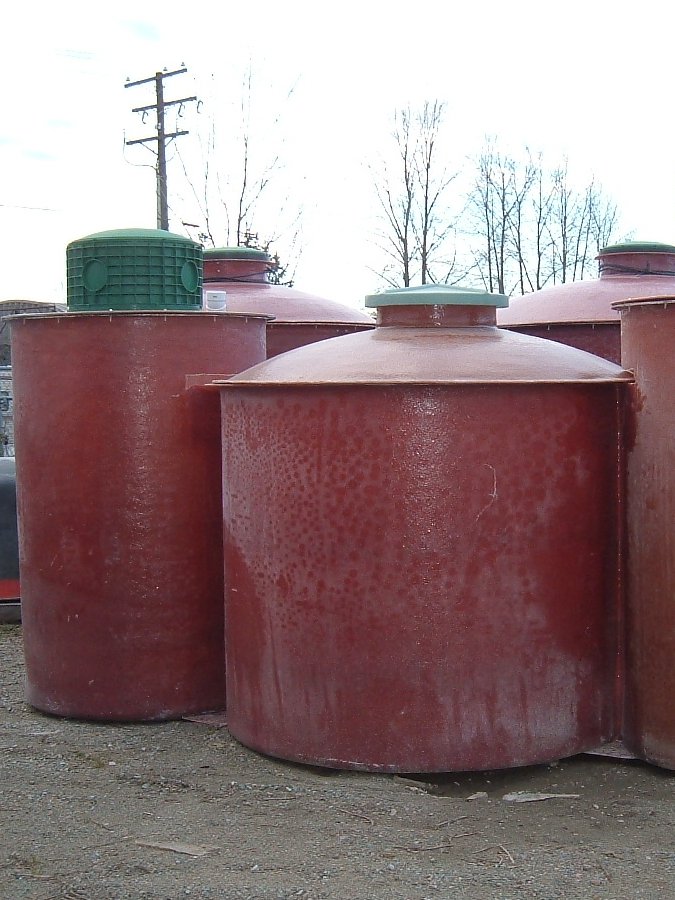 Fibreglass Septic Tanks, Water Dr., Calgary, Alberta