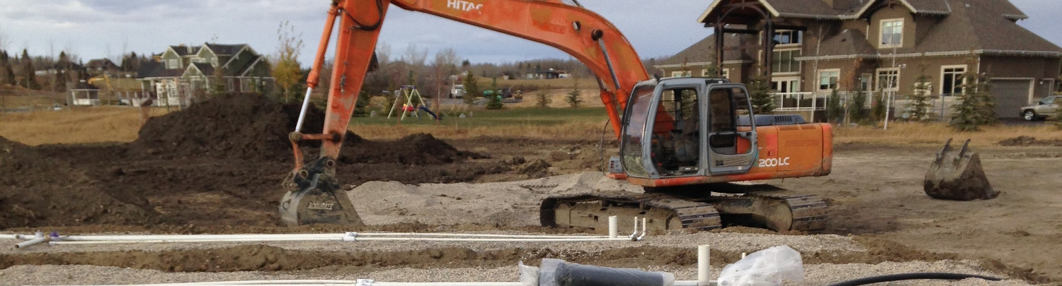 Water Dr., Calgary Alberta, Septic Tank Systems